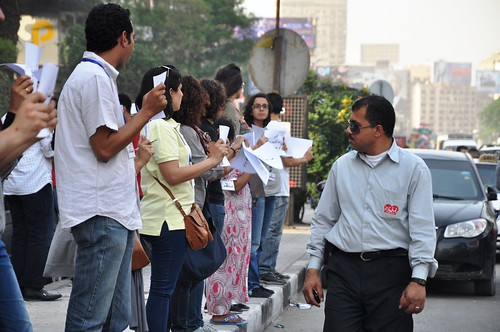 'Human Chain' Against Sexual Harassment - Cairo | by UN Women Gallery