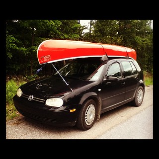 We now own a canoe! Frontenac Outfitters was great! | by Martin Cathrae
