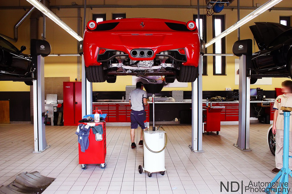 Oil change.  Sorry, thats the 4th Ferrari in a row which i \u2026  Flickr