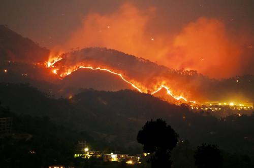 more fires in the himalayas solan rajgarh hills forest f flickr. Black Bedroom Furniture Sets. Home Design Ideas