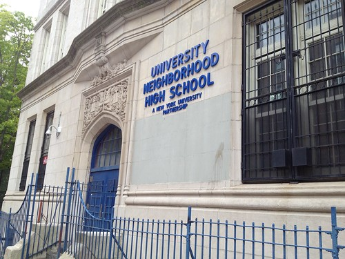 University Neighborhood High School | by Bedford Bowery