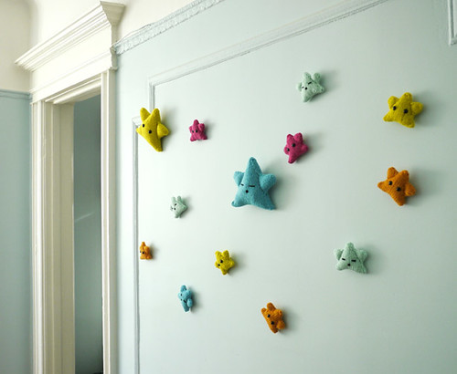 Lucky Stars on the wall! | by Mochimochi Land