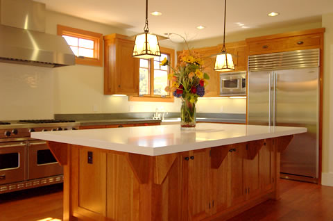 Craftsman Style Kitchen By Pacifica Tile And Granite Paci