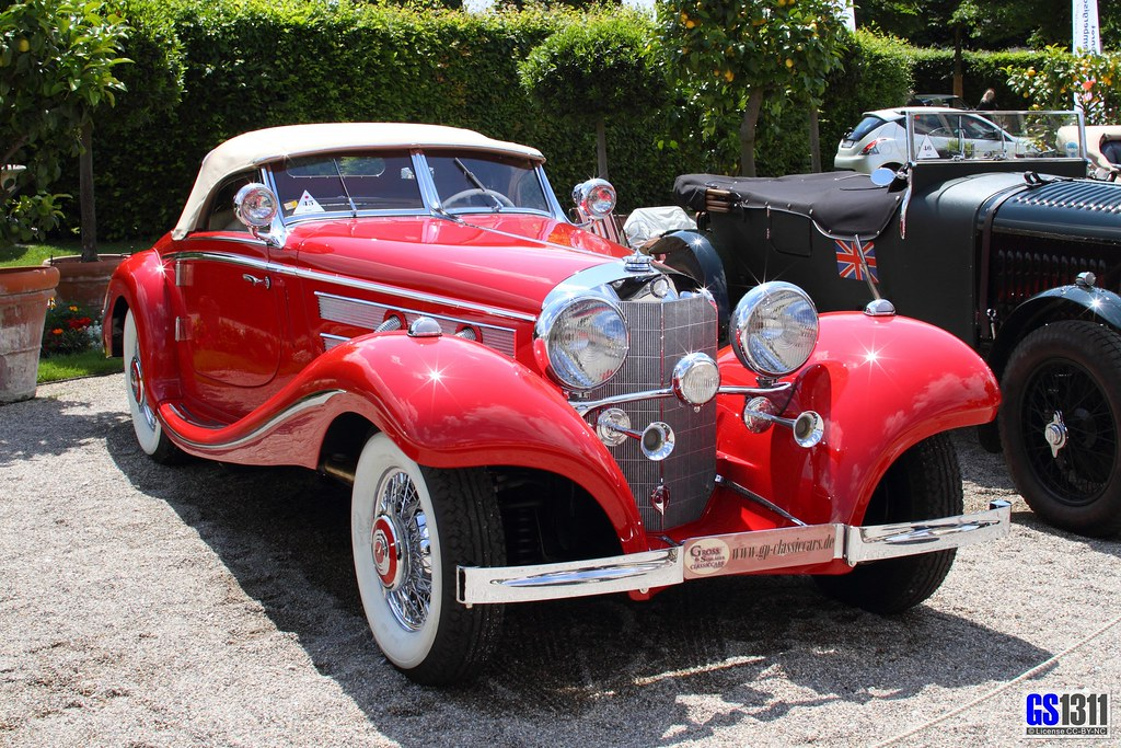 1936 1939 Mercedes Benz 540 K Spezial Roadster