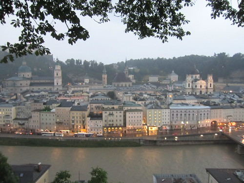 Salzburg from the Kapuzinerberg, twilight, Austria | by Paul McClure DC