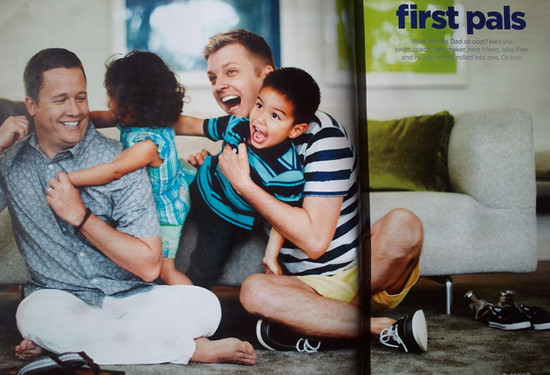 Jcpenny Features Gay Fathers In Advertisement Department
