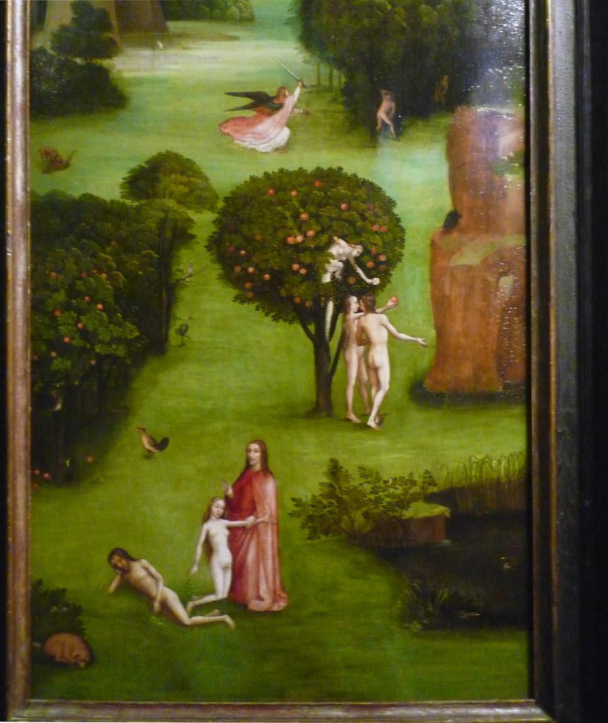 Hieronymus Bosch  The Last Judgement  Left Panel With Deta U2026