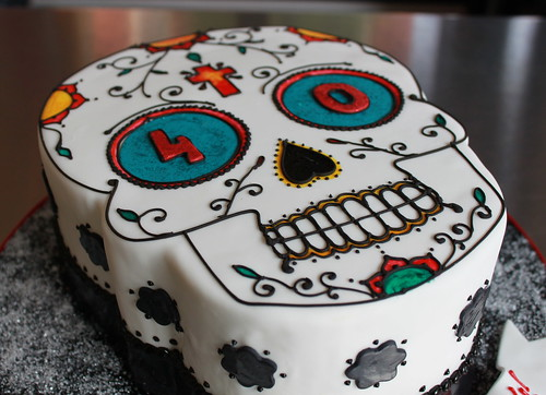 Day Of the Dead Birthday Cake | by Whipped Bakeshop