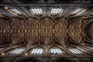 Chester Cathedral - The Nave Ceiling (17x exposure HDR) | by Mark Carline