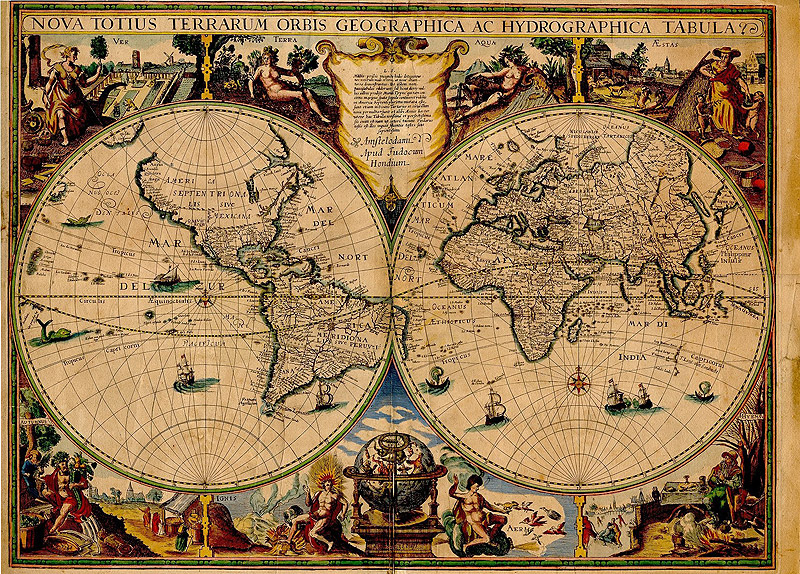 Old map collection of old maps scanned from books and othe flickr old map by photoshop roadmap gumiabroncs Gallery