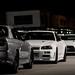 R34 GTR's x2 R35 GTR