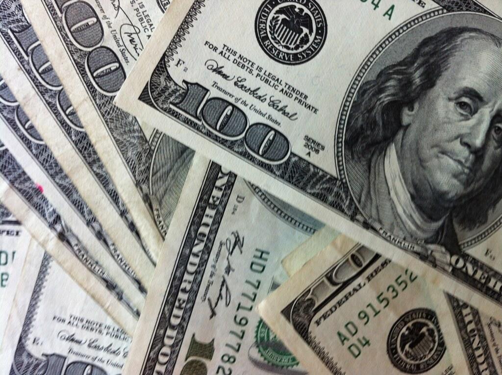 100 dollar bills a pile of money 100 dollar bills focu flickr 100 dollar bills by philip taylor pt voltagebd Choice Image