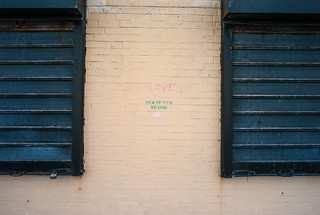 love / pick up your trash! | by Susan NYC