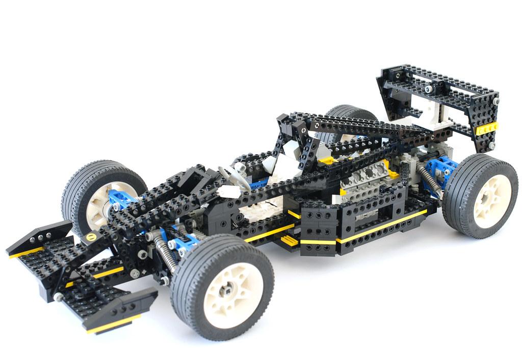 Lego Technic 8880 2 Lego Technic 8880 Formule Un Adrieng Flickr