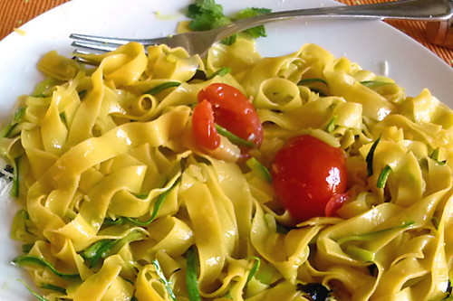 Summer Tagliatelle | by Carmelita Cookitaly