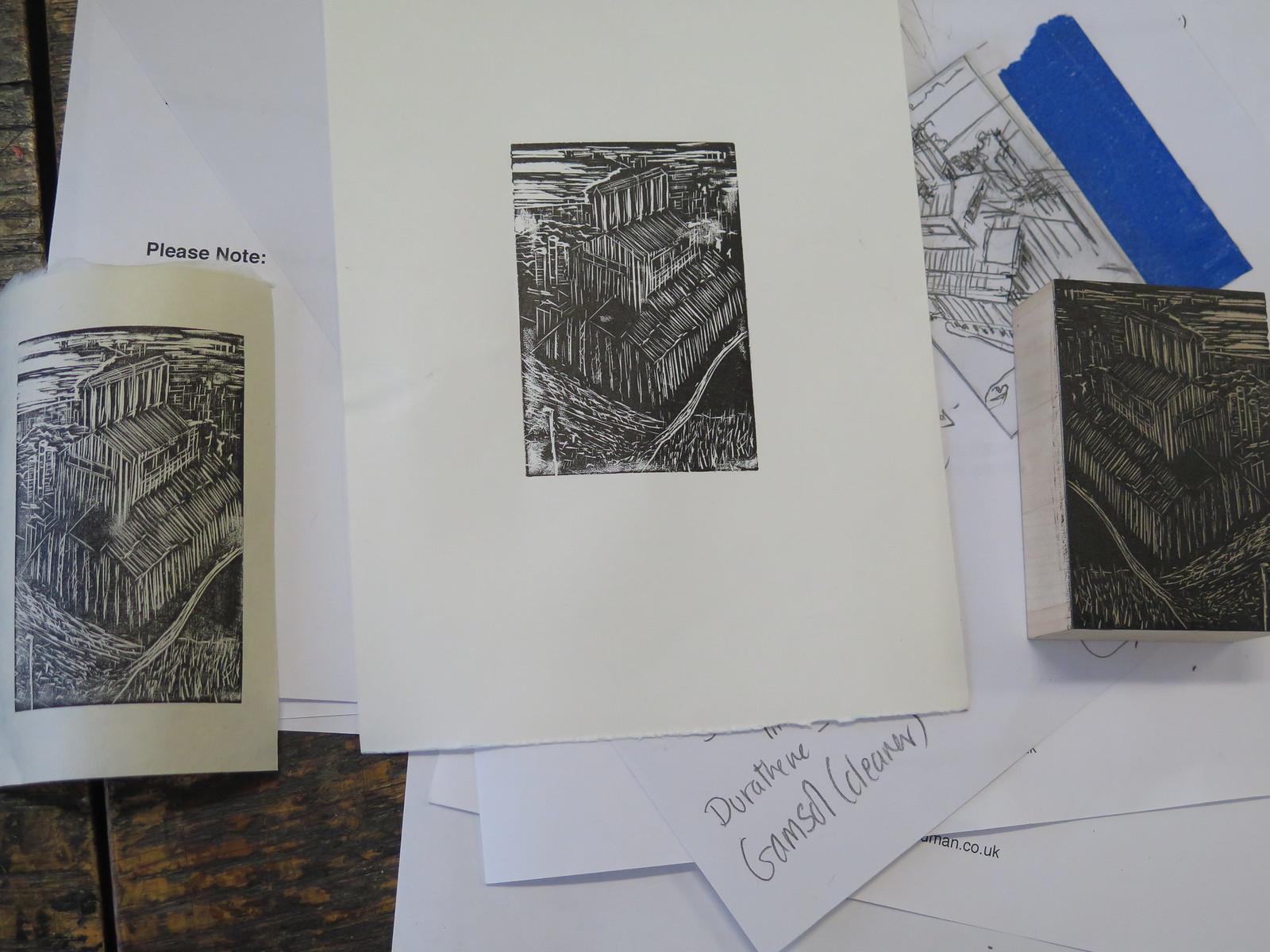 Wood Engraving - UWE CFPR, Bristol