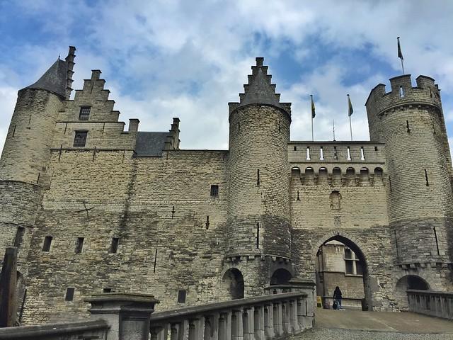 Castillo Steen de Amberes (Flandes, Bélgica)