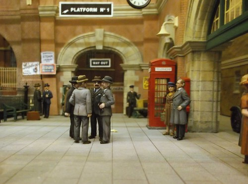 Platform scene