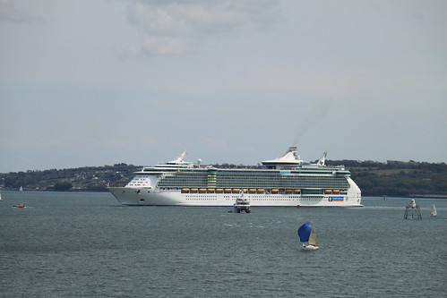 Independence of the seas Cork Harbour Cobh Co.Cork Ireland 6/5/2012 | by AnnWhit