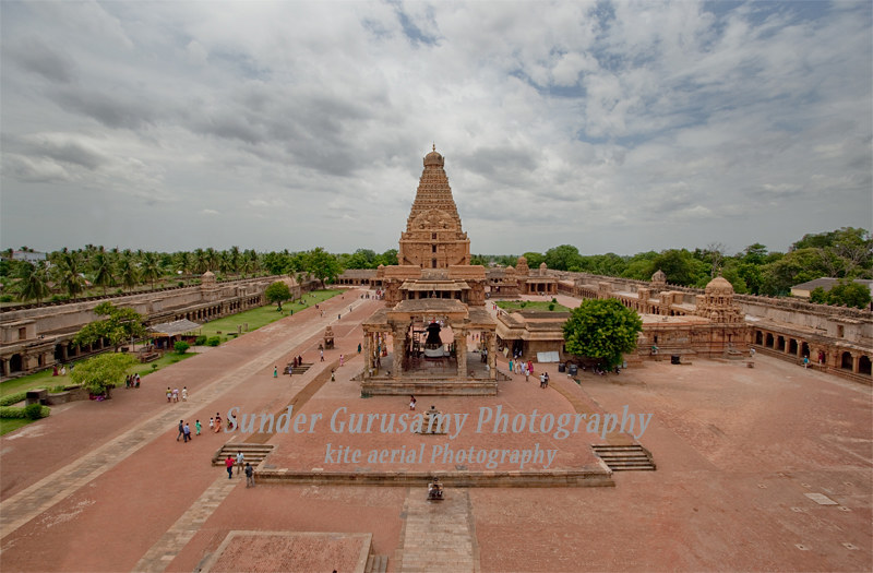 big view photography.  View Aerialviewoftanjore Big Temple  By Sunder_gurusamy For View Photography