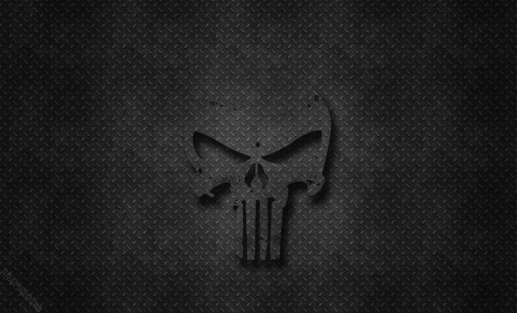 Punisher Themed Wallpaper 2 Messing Around With
