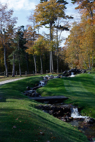 The Jewel creek flowing in the fall | by Grand Hotel - Mackinac Island