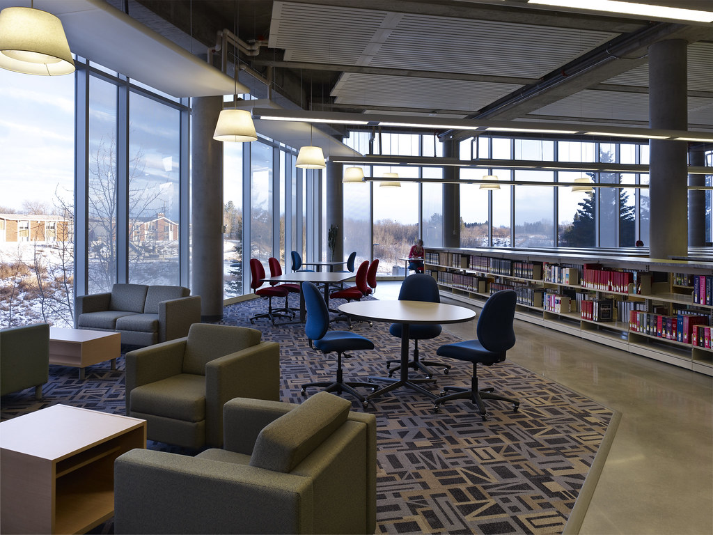 Ualberta library study spaces