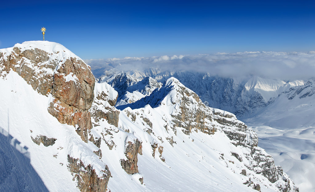 Zugspitze Germany This Is The Highest Point In Germany
