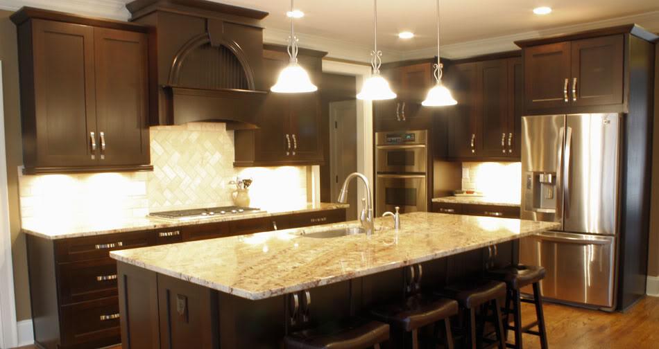... Eudora Homestead II Expresso Frameless | By Below Wholesale Cabinets