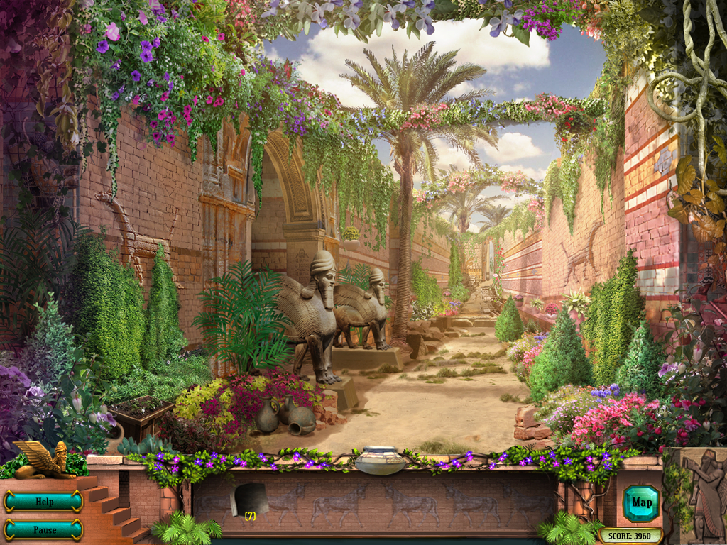 Hanging Gardens Of Babylon 047 | About Us: Fantasy Art.tel Mu2026 | Flickr