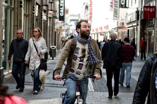Man riding a bike, Cologne Germany | by Beyond Elements