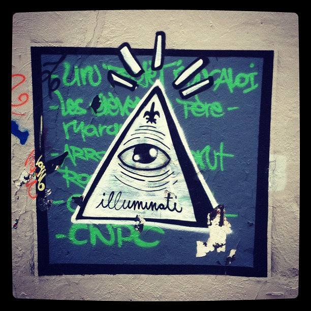 Illuminati. #graffiti | brun marde | Flickr