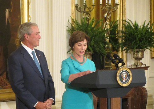 Former First Lady Laura Bush | by WilliamKoenig