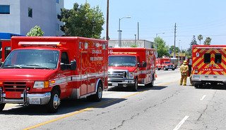 LAFD Responds to HazMat Investigation at East Valley High School | by LAFD
