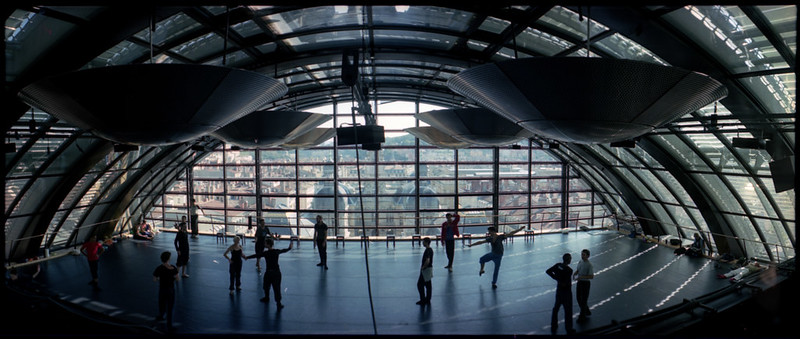 Lyon Opera ballet practice room. One of the best dance practice rooms in the world!