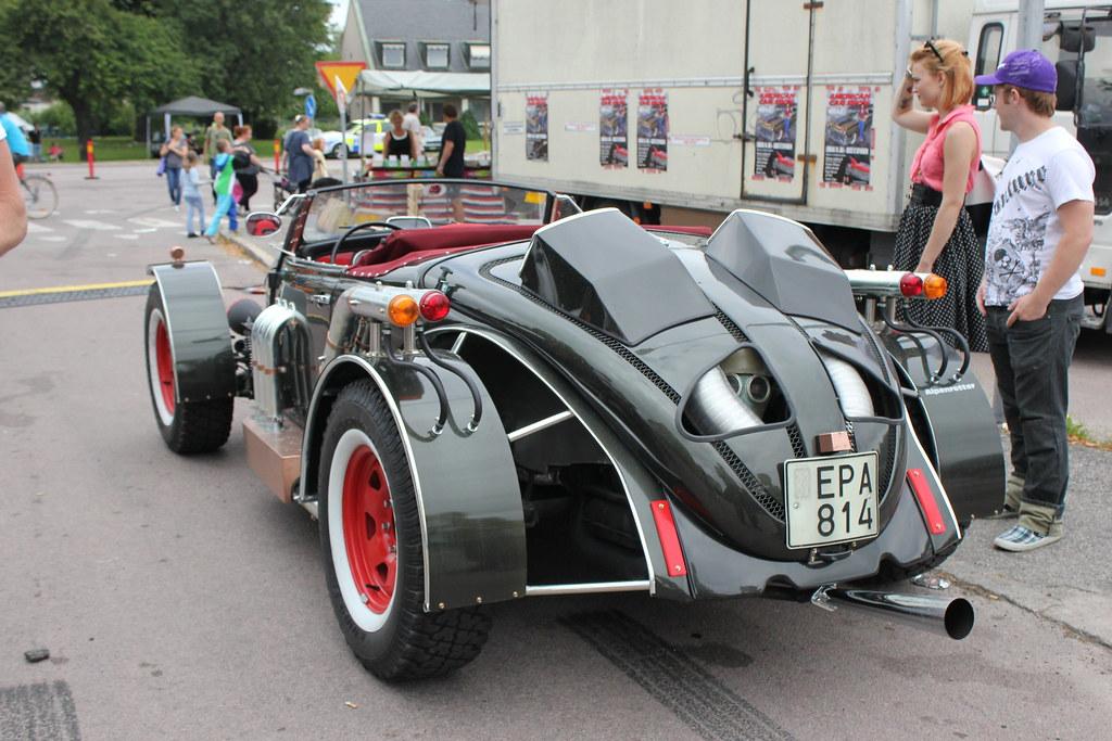 Classic VW beetle Hotrod | Power Big Meet, Västerås, Sweden … | Flickr