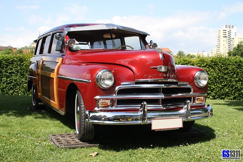 1950 Plymouth Suburban Woody Station Wagon Plymouth