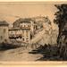 1920s John Gray - Vaison - etching and aquatint - 15 x 20 cm