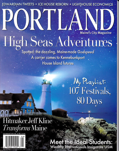 Portland Magazine July Aug 2012 Cover | by Cindy Farr-Weinfeld