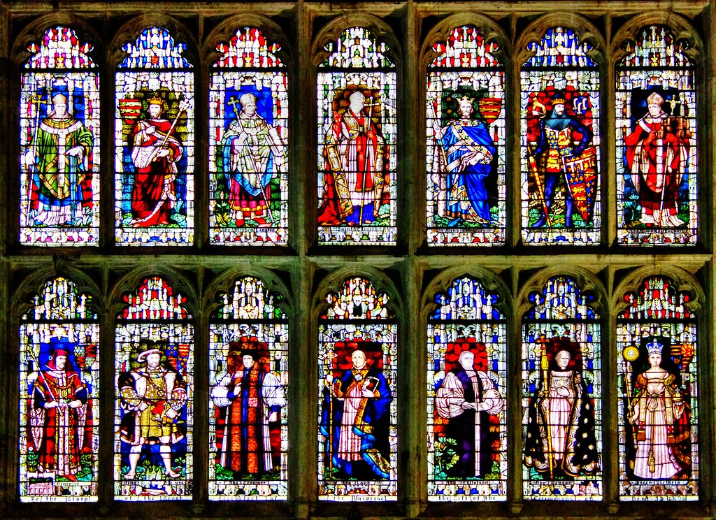 Canterbury Cathedral Chapter House Window The Stained