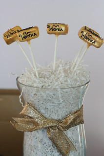 Wonka's Golden Ticket Cake Pops | by Sweet Lauren Cakes