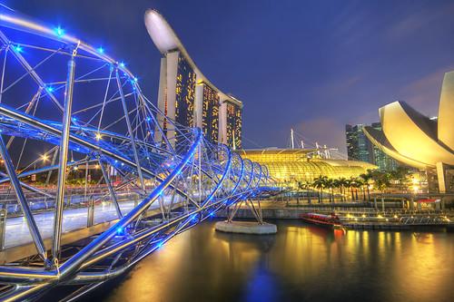 Marina Bay Sands Singapore HDR travel photo