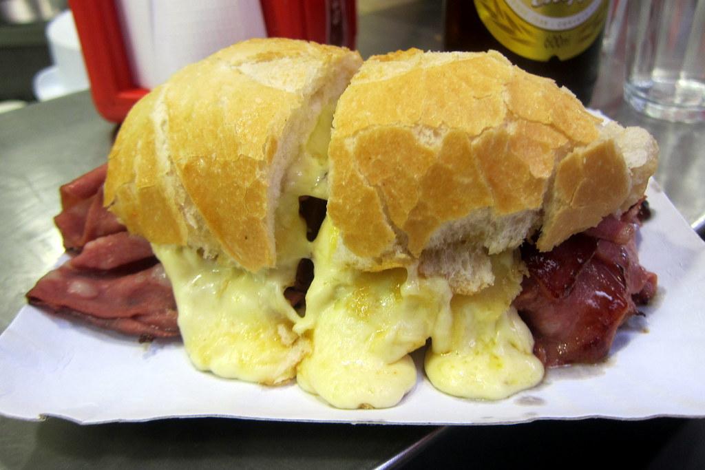 Mortadella Sandwich Sao Paulo Mortadella São Paulo Sé
