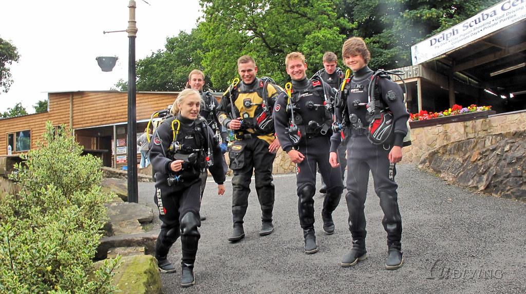 Yu Diving at Eccleston Delph | Scuba Diver Training School ...