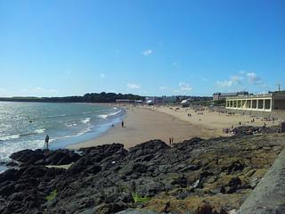 Barry Island Beach Huts Vandalised