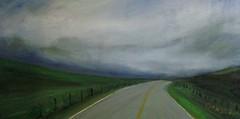Frank Justin Gonski Art storm road