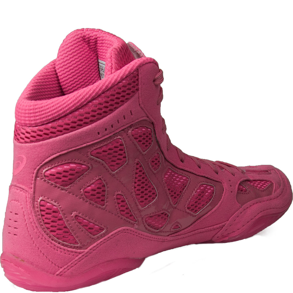 ASICS SS9 TIGERSHOCK WRESTLING SHOES BERRY NEON PINK | Flickr
