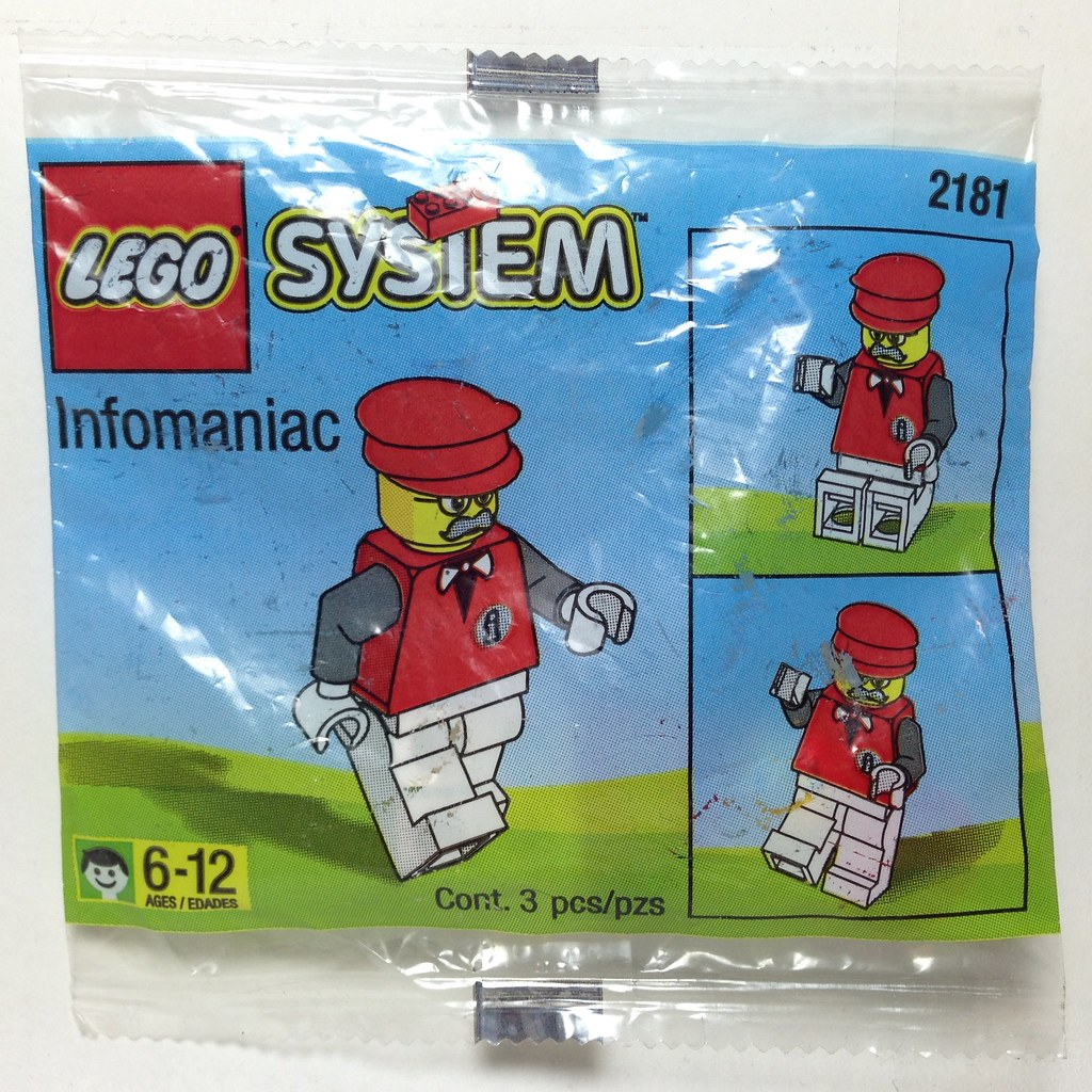 ... LEGO System 2181 Infomaniac Polybag 1997 | by -ZANTHERA-