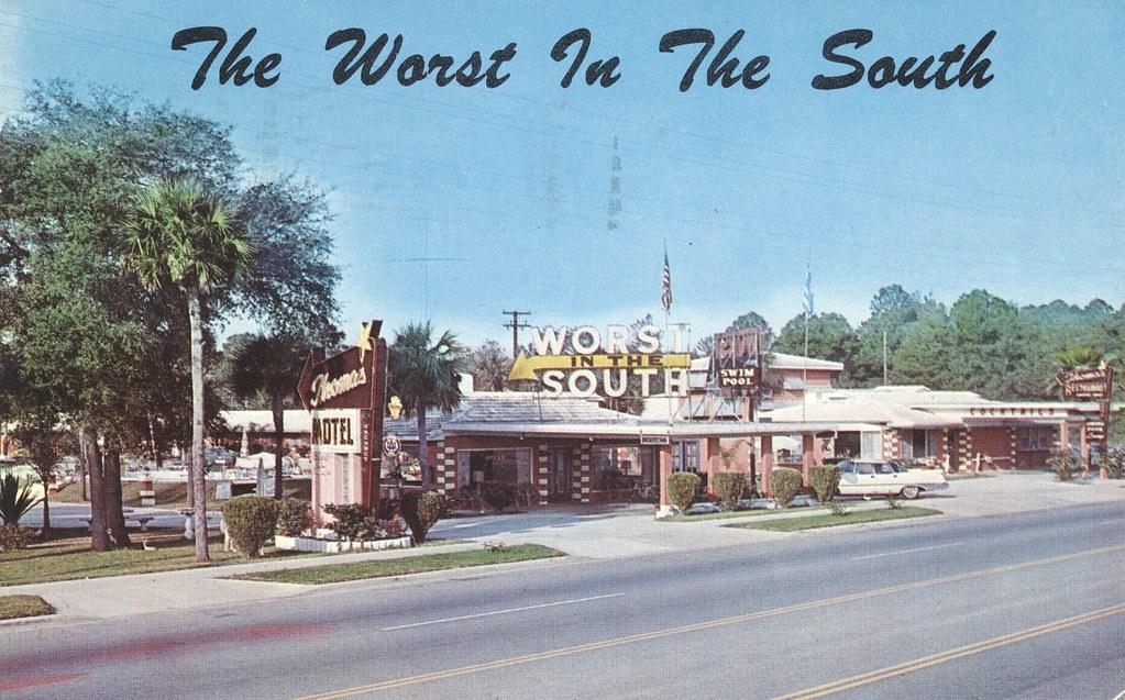 Thomas Motel, Restaurant and Cocktail Lounge - Ormond Beach, Florida