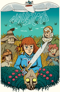 Nausicaa poster, colored | by zacksoto
